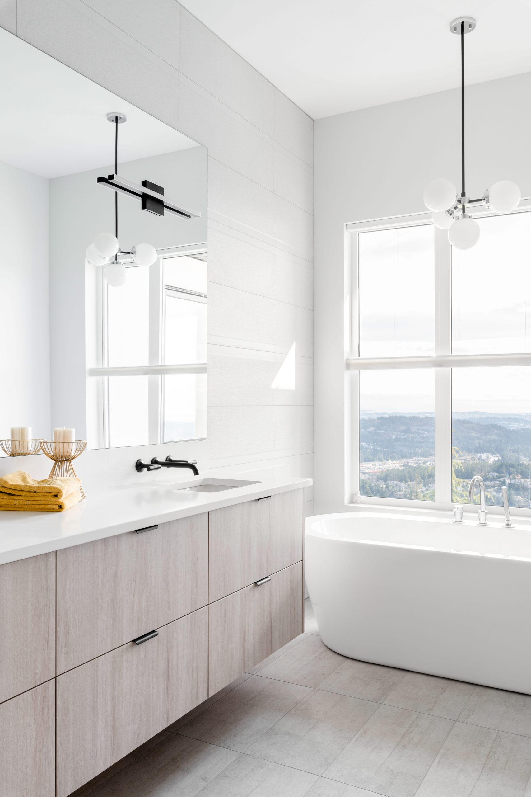 Cabico Custom Cabinets - Projet salle de bain 2 The Lookout - vue de côté