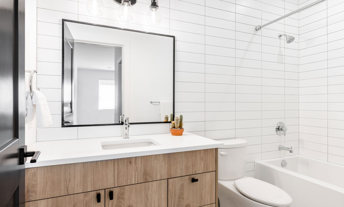 Cabico Custom Cabinets - The Lookout bathroom project - overview