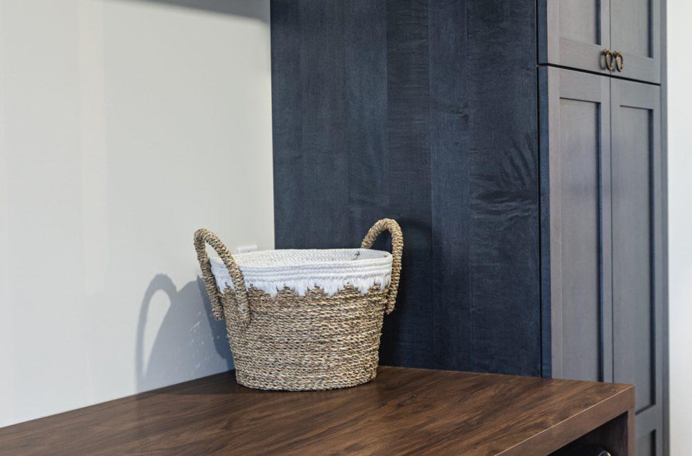 Cabico Custom Cabinets - Projet salle de lavage Farmhouse - vue d'ensemble