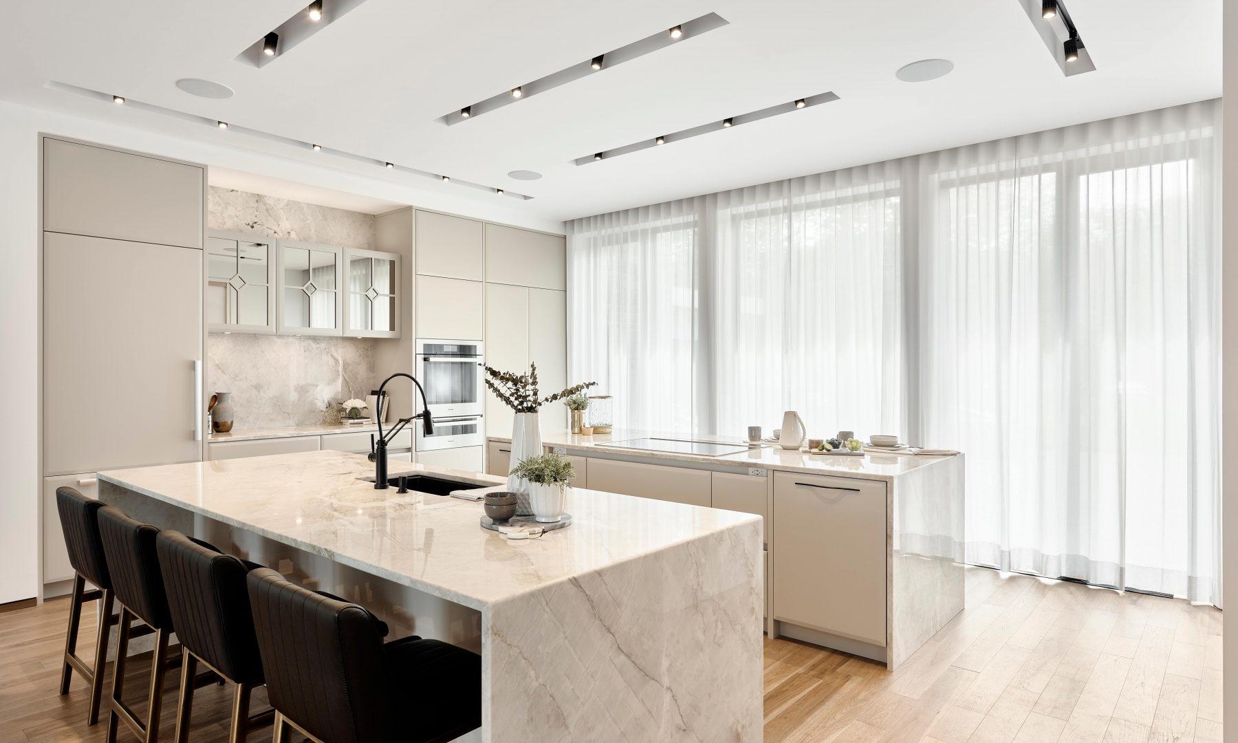 Cabico Custom Cabinets - Projet cuisine Portobello - vue d'ensemble