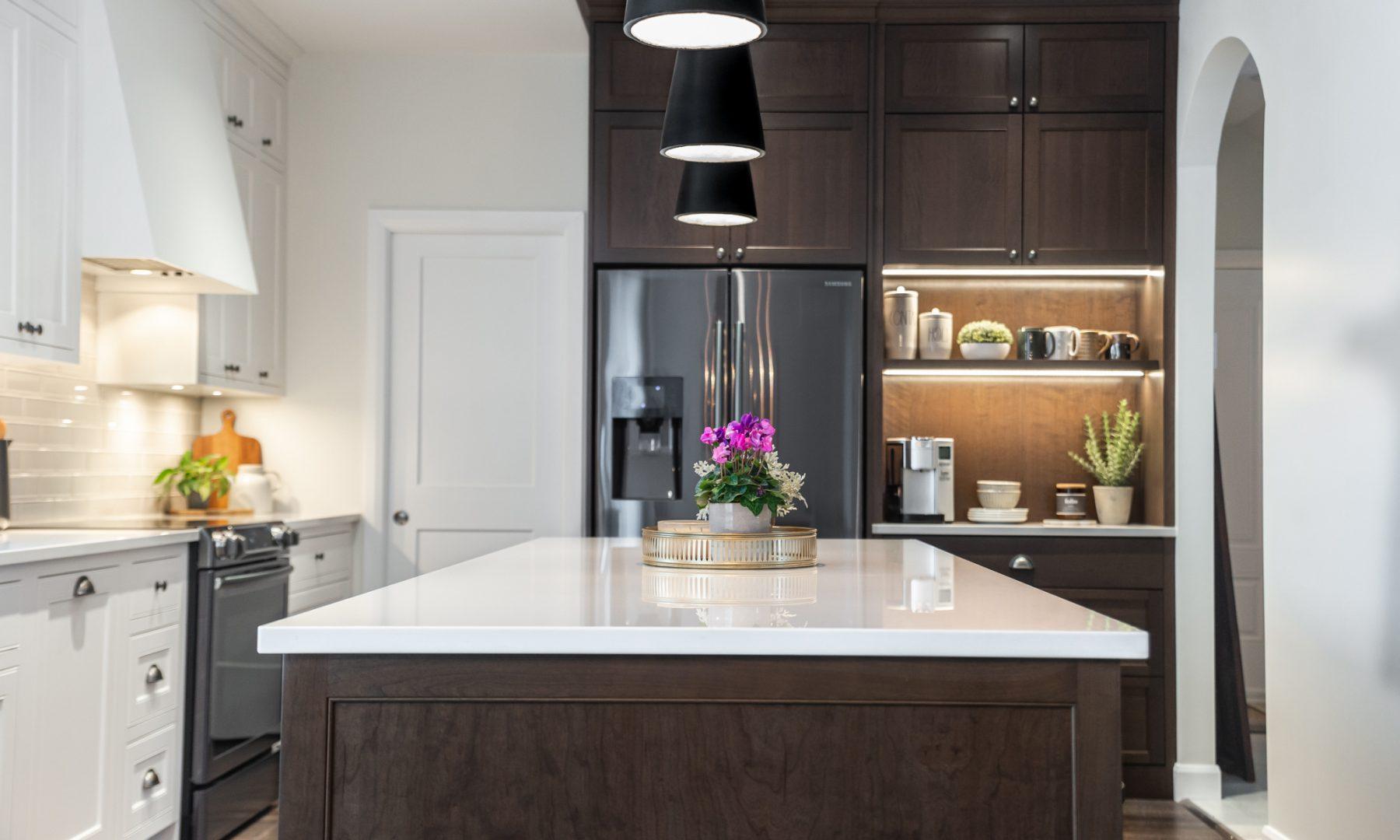 Cabico Custom Cabinets - Projet cuisine Farmhouse - vue d'ensemble