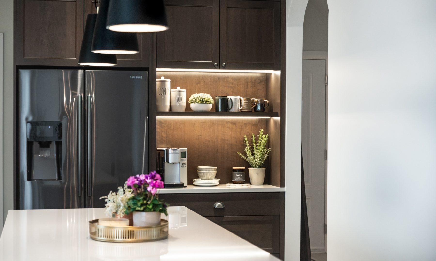 Cabico Custom Cabinets - Projet cuisine Farmhouse - Coin déjeuner