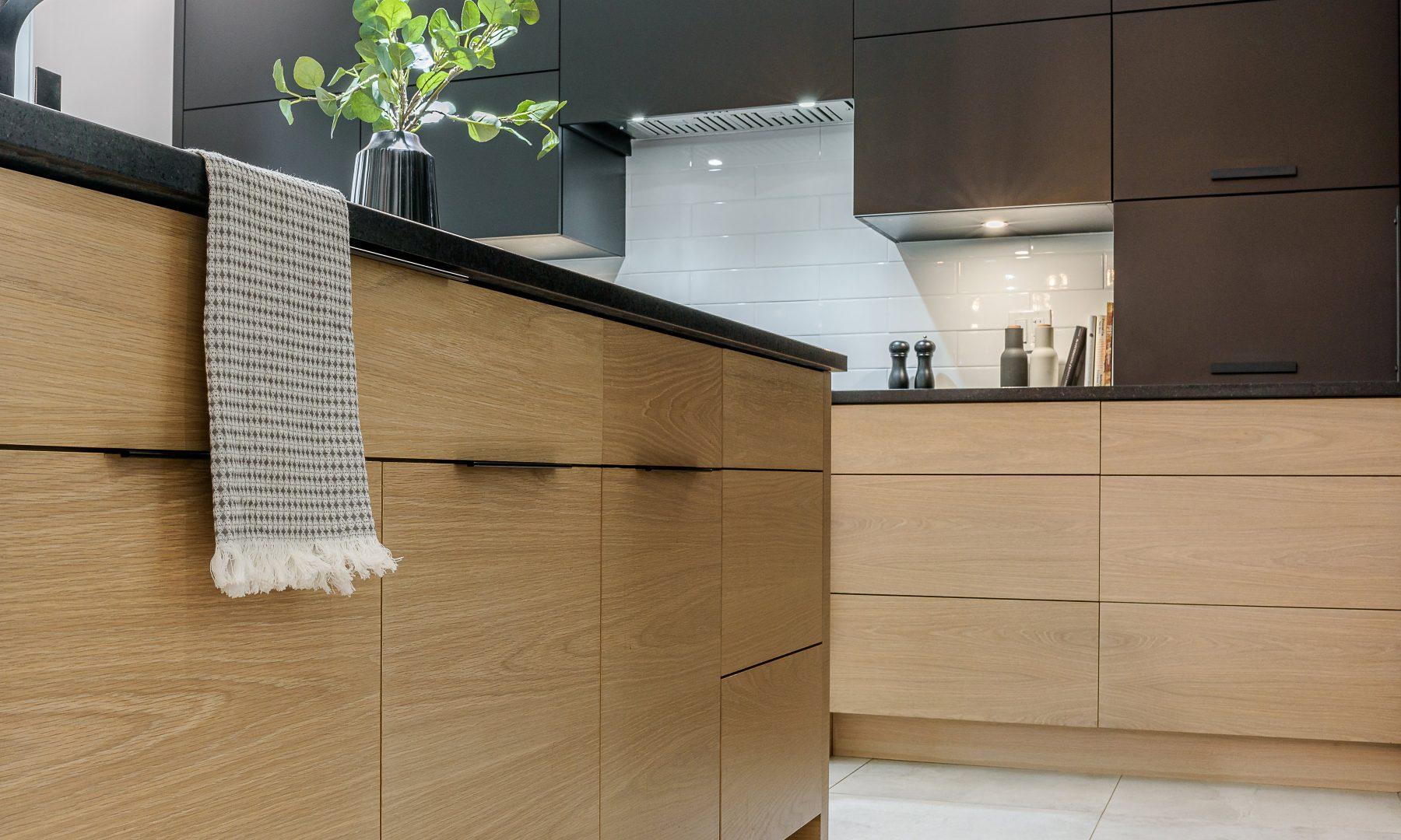 Cabico Custom Cabinets - Projet cuisine Greenwood - vue rapprochée