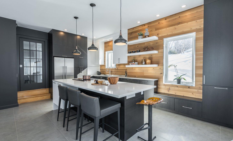 Cabico Custom Cabinets - Projet cuisine Winterly - vue d'ensemble