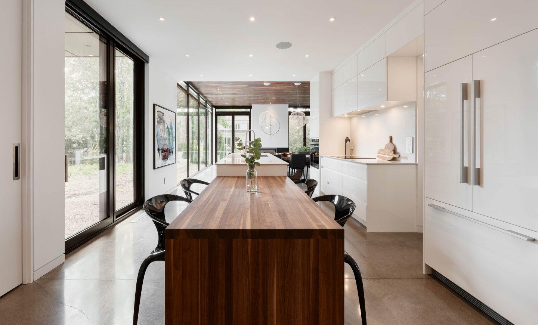 Cabico Custom Cabinets - Projet cuisine White Oasis - vue d'ensemble