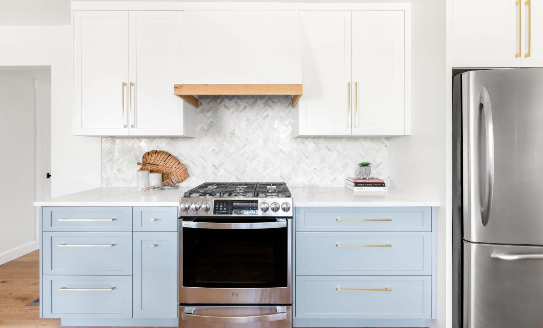 Cabico Custom Cabinets - Projet hotte Royal Oak - vue d'ensemble